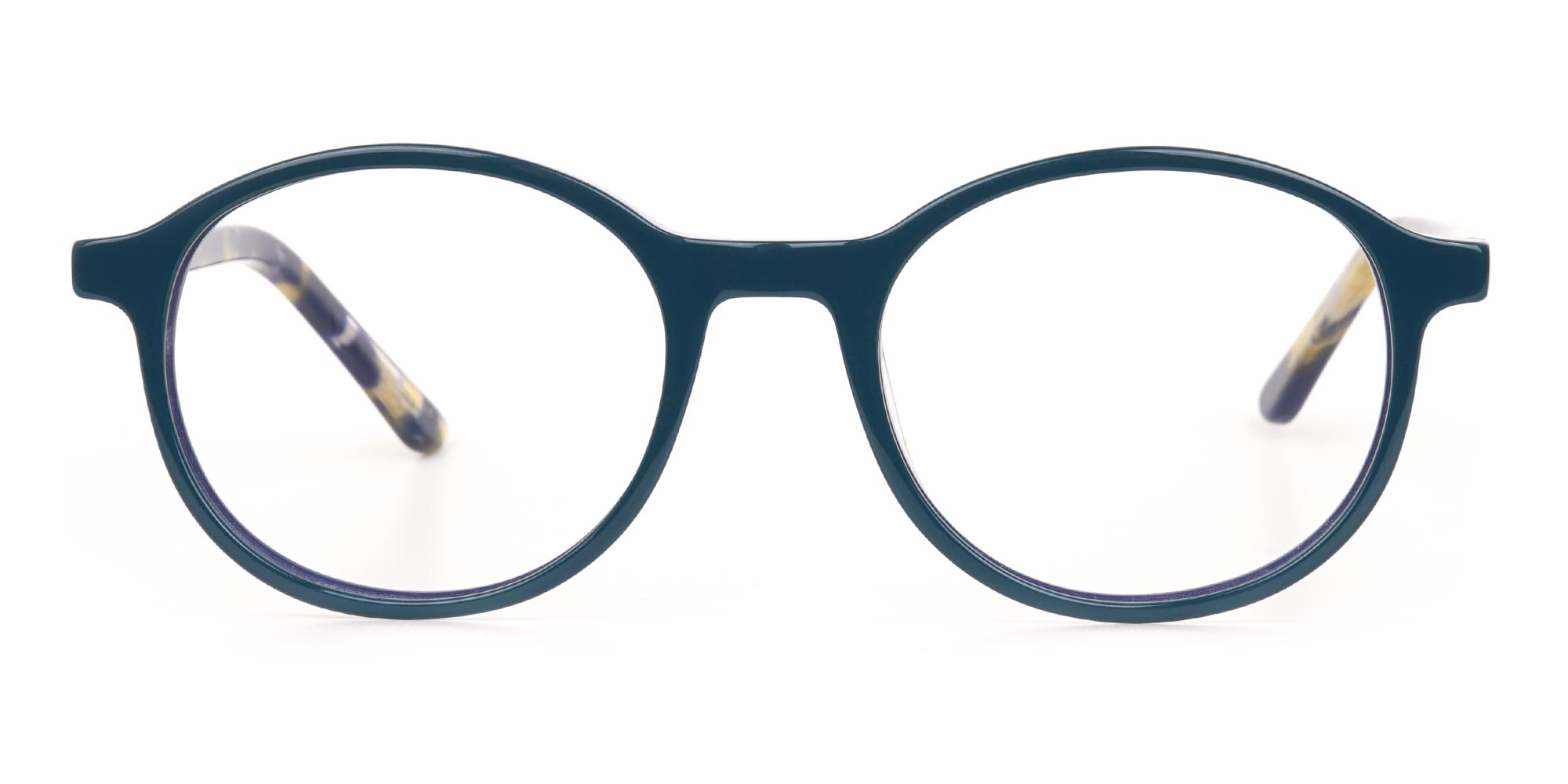 blue color glasses